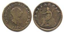 Contemporary Non Regal 1806 British Halfpenny - Nice and Rare