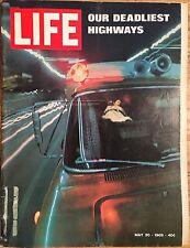 LIFE MAGAZINE May 30 1969 * Car Crashes * Chief Justice Burger * Apollo 10