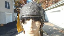 WW2 A-11 Flight Helmet Modified Size Med RCa H71 AIC Head Set
