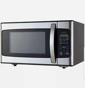 Hamilton Beach 1.1 Cu. Ft. 1000W Stainless Steel Microwave - New