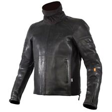 RUKKA CORIACE-R BLACK WATERPROOF LEATHER MOTORCYCLE MOTORBIKE TOURING JACKET