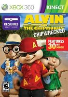 Alvin And The Chipmunks: Chipwrecked For Xbox 360 Music Very Good 8E