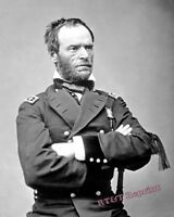 Photograph of Civil War General William Tecumseh Sherman  Year 1865c 8x10