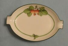 HEREND China BACCI FERE Domestic GARDEN STRAWBERRY Porcelain ASHTRAY Trinket Box