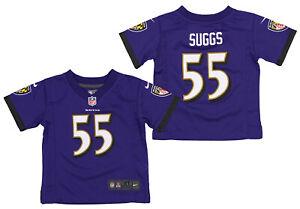 Nike NFL Toddlers Baltimore Ravens Terrell Suggs #55 Game Day Jersey