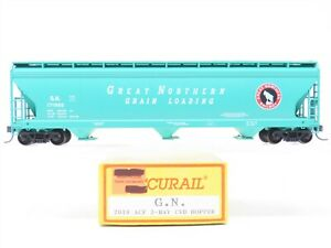 HO Scale Accurail 2010 GN Great Northern ACF 3-Bay Covered Hopper #171986