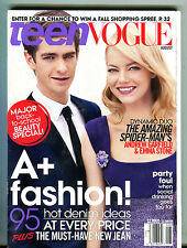 Teen Vogue Magazine August 2012 Andrew Garfield Emma Stone EX 071216jhe