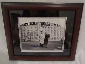 Yogi Berra (D 2015) & Whitey Ford Autographed & Framed 8x10 Photo– Steiner & MLB