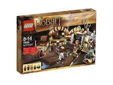 Lego The Hobbit 79004 BARREL ESCAPE Oin Gloin Bilbo Mirkwood Elf Dwarf NISB