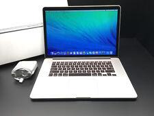 "Apple Macbook Pro 15"" Retina 2.5Ghz Core i7 2015 / R9 / 512GB / AppleCare 2019!"