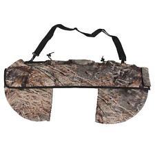 Adjustable Archery Hunting Compound Bow Sling Holder Case Bag & Side Pockets