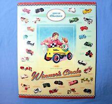 "Hallmark Kiddie Car Classics Winner's Circle Poster 20"" x 16"" Nos"