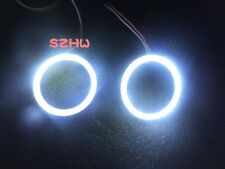 50mm 2pcs LED Angel Eyes Rings COB lens Q5 Hella Car Decorative Lights, big fog