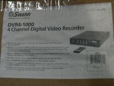 "Swann DVR4-1000  4-Channel 160GB HDD DVR Digital Video Recorder ""NEW"""