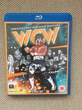 WWE WCW Blu Ray Greatest WCW Pay-Per-View Matches 2 Disc Set