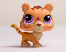 Littlest Pet Shop LPS Bobble in Style TIGER #3593 with purple eyes