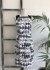 Cue in the City Cotton Multi-Print Dress - Size 12 to 14 (Tagged 14 best fit 12)