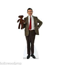 MR BEAN ROWAN ATKINSON TEDDY BEAR LIFESIZE CARDBOARD STANDUP STANDEE CUTOUT PROP
