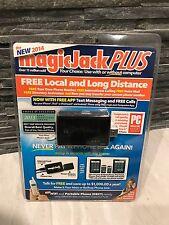 NEW 2014 MagicJack PLUS USB VoIP Wifi PC Phone Jack w/ 6 Months Free S1013 NIB