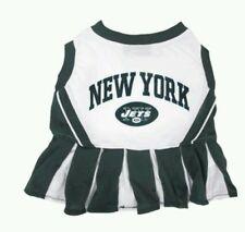 NFL NEW YORK JETS CHEERLEADER PET DRESS. SZ M