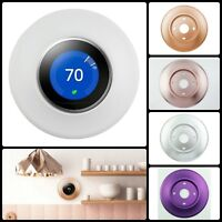 Rounded Wall Plate Metal Cover for Nest Thermostat 3rd 2nd 1st Generation New