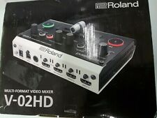 Roland V-02Hd Multi-Format Video Mixer - open box