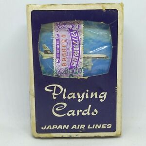 NINTENDO LTD Carte da gioco poker bridge Japan Air Lines vintage Playing Cards