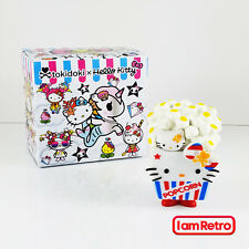 Popcorn - Hello Kitty x TokiDoki Mini Series 2 Vinyl Figure Brand New