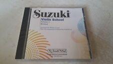 Suzuki VIOLIN School, Volume 5 - Compact Disc CD. NEW & SEALED. Free Postage
