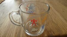 1984 Los Angeles Olympic Games McDonald's Promotional Glass Coffee Mug Cup