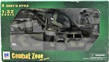 Combat Zone Play Series 1:32 Scale # 61015 Military Play Set Helicopter New Ray