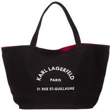 Karl Lagerfeld shoulder bag women rue st guillaume 20KW201W3138 Black gold glitt