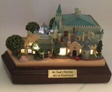 Olszewski Disneyland Mr Toad's Wild Ride Alice In Wonderland First Edition 2010