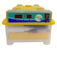 Automatic 8 Egg Incubator + Candler Hatching Eggs Chicken Quail Duck