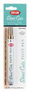 Gold Short Cuts Paint Pen Marker by Krylon no. SCP-901 NEW