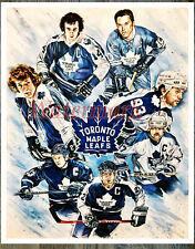 Nhl Toronto Maple Leafs Captain Tribute Color 8 X 10 Photo Picture