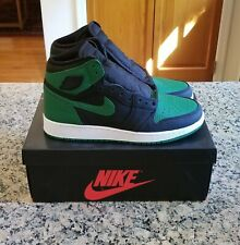 Nike Air Jordan 1 Retro High OG GS Pine Green Size 7Y NEW 575441-030 Authentic