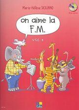 Marie-Hélène Siciliano: on aime la F.M. - Fourth Year (Livre) tous les instruments