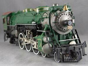 PSC O scale Brass Southern PS-4, Baker VG 14,000 gal tender ptd Crescent Limited