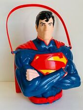 SIX FLAGS MAGIC MOUNTAIN DC COMICS SUPERMAN POPCORN BUCKET NEW