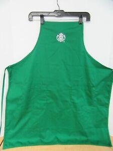 Starbucks Coffee Apron Green Barista Uniform Siren Logo