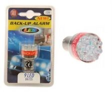 24V Reversing Beeper Alarm Warning 9 LED Light Bulb Back Up Van Trailer Caravan