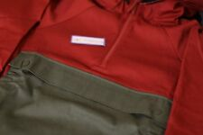 Nike SB Everett Anorak 1/2 Zip Jacket Pullover Cayenne 800176 674 Size M