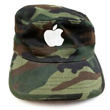 Apple Computer Military Style Camouflage Cap Ultra Fit Magic Headwear Size S-M