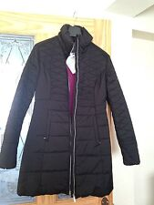 """Brand new Women coat with """"THERMORE"""" insulation Size S in black, brand Audimas"""