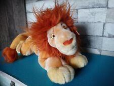 Peluche mufasa roi lion 36 cm exclusivité Disney Store neuf