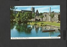 John  Hinde Colour Postcard The Priory Christchurch Hampshire Posted 1967