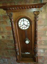 Antique kienzle Vienna wall clock 1920s  for repair