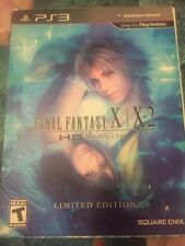 Final Fantasy X/X-2 HD Remaster: Limited Edition (Sony PlayStation 3 PS3, 2014)
