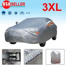 New Full Car Cover Outdoor PEVA Waterproof Rain Heat Dust Resistant Protection